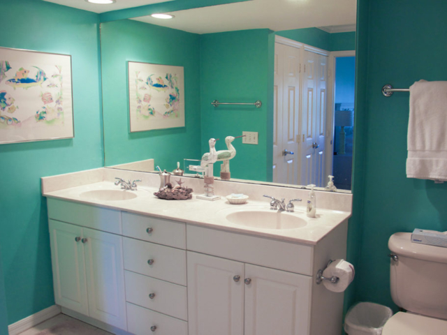 Vacation Rental Master Bathroom