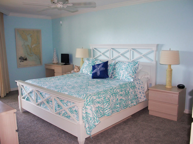 Vacation Rental Master Bedroom